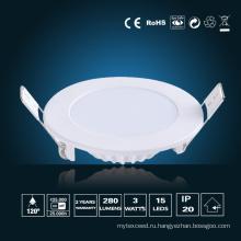 3W светодиодные панели освещения φ 85 * 16 мм