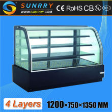 4 Layers Vertical Acrylic Cake Display Stand (SY-CS400DM SUNRRY)