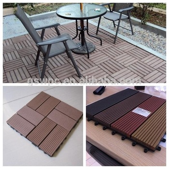 Wpc Composite Diy Decking Boards Easy for Installation