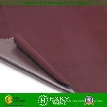 TPU traitant le tissu de Jacquard Poly avec la couleur de gradient pour la veste occasionnelle