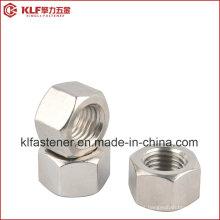 Aço Inoxidável Hex Porca 316L ISO4032
