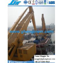 Manutenção de carvão Port Machine Hydraulic E Crane