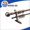 Electroplated rotating rod curtain tubes pole