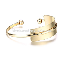 OEM atacado europa e nos estados unidos vendendo pulseira 18k moda diy plated coulourful charme pulseira