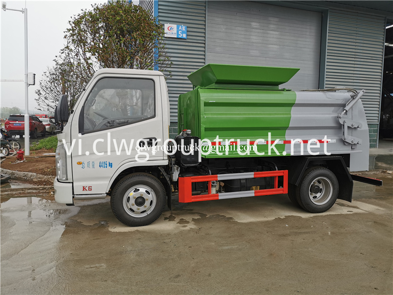 Waste Collect Truck 1