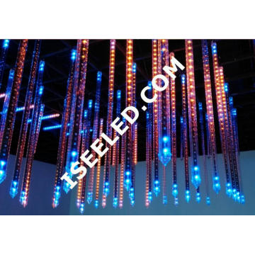 Disco Clube Decorativo DMX512 RGB LED Tube 3D