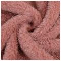 Künstliche Kaninchen-Fleece-Stoffe der Babydecke