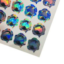 labels Making security certificate hologram 3D sticker hologram sticker