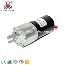 ET Long lifetime &Low noise 37mm brushless dc 12v Gear motor 500rpm