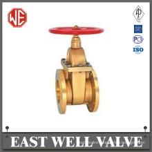 Brass steam gate valve
