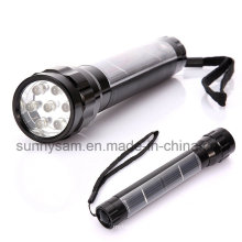 Linterna solar LED portátil con 7PCS Super Bright LED