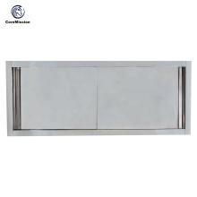 Раздвижные двери 304 Коммерческая кухня Подвесной шкаф