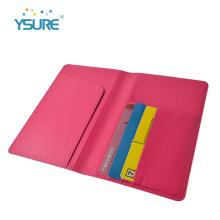 Пользовательские новые модные пу кожаный держатель кредитной карты