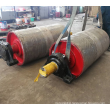 Ske Belt Conveyor Spare Parts Roller Idler Pulley Drum Frame Manufacturer