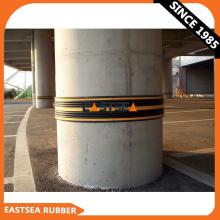 Rubber Manufacture Black & Yellow 5000MM Standard Length Column Guard