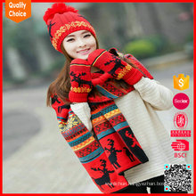 New arrival high quality warm cute customized wool hat