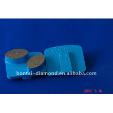 H-Slide concrete grinding pads