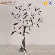 Artificial boda central árbol de coral árbol decorativo de la boda