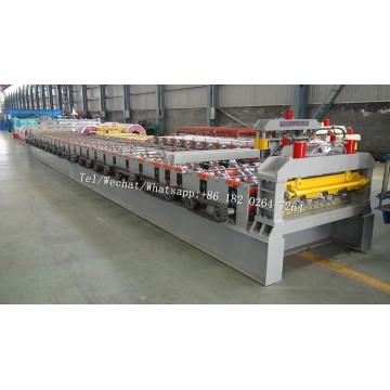 Steel Structure Galvanized Floor Decking Machine