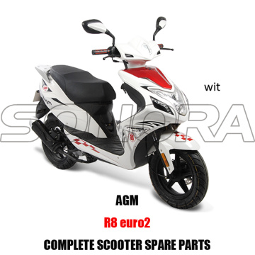 AGM R8 SCOOTER BODY KIT PIEZAS DEL MOTOR COMPLETO SCOOTER REPUESTOS ORIGINALES REPUESTOS
