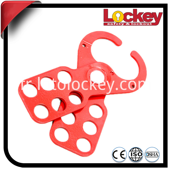 Steel Lockout Hasp