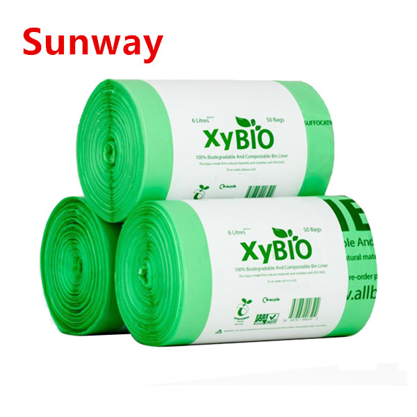 Biodegradable Plastic Garbage Bags