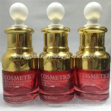 Exquisite óleo essencial garrafas de vidro 30ml