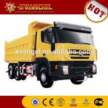 Camión volquete usado japonés camión de la marca de fábrica IVECO con el radiador del camión volquete de la grúa para la venta
