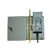 Wall Mounted Single Fiber Optic Termination Box Drop Cable For Mechanical Splice