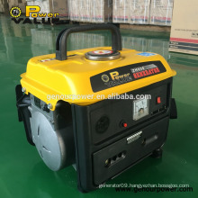 Hot sale in Nigeria market 0.5kw gasoline generator for Nigeria market with one year warranty