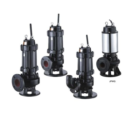 WQ S type knife shredded submersible sewage pump 2
