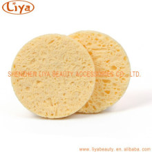 Natural Cellulose sponge puff for facial clean sponge wood pulp sponge