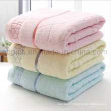 Custom Cotton Towel with Embroidered Logo (AQ-007)