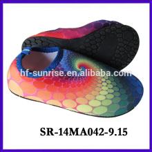 SR-14MA042-9 Strandschuhe für Wasser neue Karikatur auqa Schuhe Wasserdruck oberen aqua Schuhe