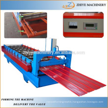 galvanized iron roof sheet rolling machine