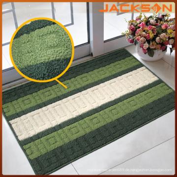 Günstige PP Garn Streifen Design Tür Matte Teppich