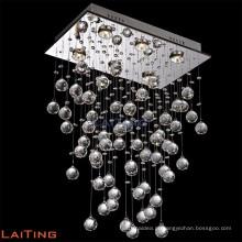 Design Moderno e Contemporâneo K9 Cristal Gota de Chuva Lustres de Teto Lâmpadas Penduradas Luminárias 92022