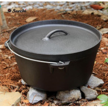 Hot Sale Pre-Seasoned Cast Iron Dutch Oven with Custom Logo
