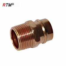 threaded copper fittings refrigeration fittings sanitary pipe fitting