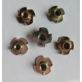 Color Zinc Plating disco T-Nuts