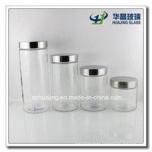 All Sizes Bulk Food Storage Cylinder Mason Glass Jar