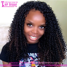 Wholesale glueless front lace wigs hot sale virgin brazilian hair lace front wig