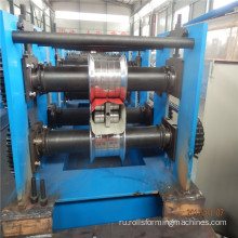 Rain gutter down pipe making machine