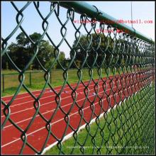 Clôture en treillis métallique de diamant de barrière de jardin de barrière de Sportland