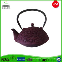 Made in China custom enamel coating cast iron tea pot