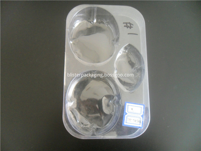 Transparent PVC Shampoo Bottle Tray