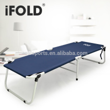 Outdoor Furniture Type and Yes Folded portable adult bed two folded camping bed and chair