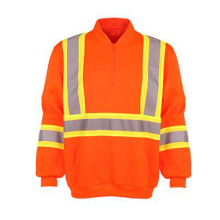 Winter Strip Orange Safety Jacket