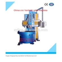 Máquina de torno CNC China Máquina de torno vertical CNC precio para la venta caliente en stock
