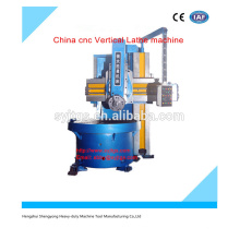 CNC lathe machine China cnc Vertical Lathe machine price for hot sale in stock